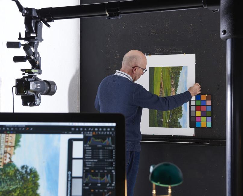 Fine-art-digital-copying-set-up