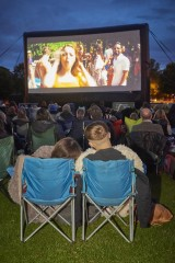 Broadway gardens outdoor cinema screening