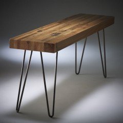 bench reclaimed wood
